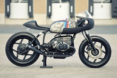 Werk Of Art: WalzWerk's BMW R80 cafe racer has a hot-rodded R100 motor recording over 80 bhp at the back wheel.