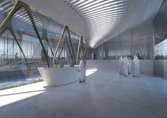 Zaha Hadid Architects vence concurso pra Centro Cultural na Arábia Saudita   ArchDaily Brasil