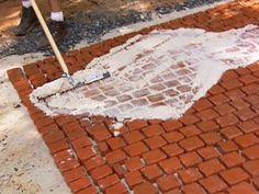 How to Install a Cobblestone Patio | how-tos | DIY