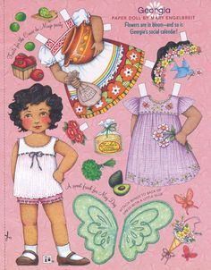 Mary Engelbreit Paper Doll Georgia Vol 10 No 3 Apr May 2006 | eBay