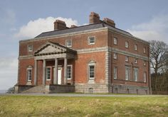 Bellamont Forest, Cootehill, Co Cavan, Ireland, exterior view to front portico.