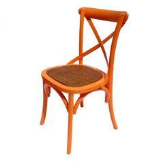 Cadeira Firenze Laranja