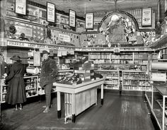 """""""People's Drug Store, 7th and K."""" 1921"""