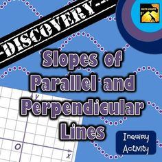 41 best math blogs and websites images on pinterest math classroom this discovery activity guides students to graph pairs of lines and observe patterns in equations of parallel and perpendicular lines fandeluxe Gallery
