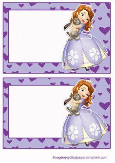 Princesa sofia para imprimir