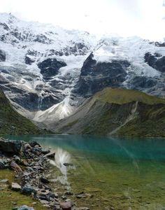 The Lush Humantay Lake