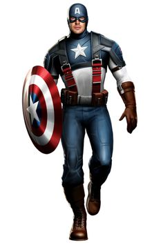 Cap costume from First Avenger movie