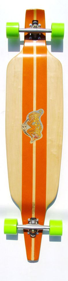 ゝ。Screaming Mary Bottom Long Board.。