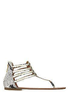 MISS KG Dixie flat sandals