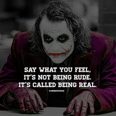 Today something new, scroll down and see…. Heath Ledger Joker Quotes, Best Joker Quotes, Badass Quotes, Joker Qoutes, Batman Quotes, Gangster Quotes, True Quotes, Motivational Quotes, Inspirational Quotes