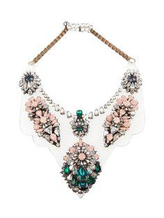 shourouk OU-D-IRYANA jewellery PINK GREEN