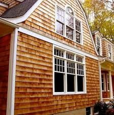 Vinyl siding that looks like natural cedar but requires for Exterior siding that looks like wood