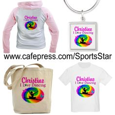 Dazzle, sparkly and shine with our pretty personalized Dancer and Dancing Tees and Gifts from http://www.cafepress.com/sportsstar/10423569 #Dancer #Dancing #Dancergifts #Dancingqueen #Ilovedancing #moderndance #Ballerina #Ballet