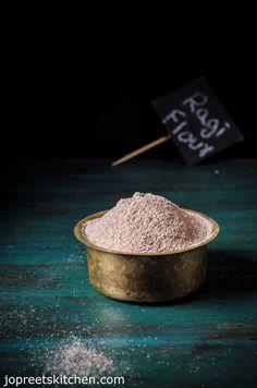 Sprouted Ragi Flour Recipe / Homemade Ragi Flour