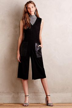 Sueded Tribecca Jumpsuit - anthropologie.com