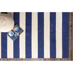 Nantucket Hand-Woven 100% Wool Rugs- Assorted Colors and Patterns