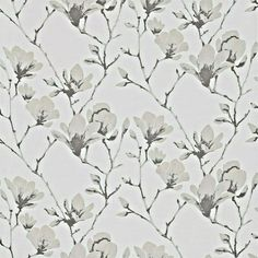 """HARLEQUIN WOVEN DAMASK FABRIC """"LOTUS"""" 115 X 145 CM SILK & OTHERS BLENDS #Harlequin Magnolia Branch, Magnolia Flower, Roman Blinds, Curtains With Blinds, Harlequin Fabrics, Chinese Fabric, Painted Rug, Color Stories"""
