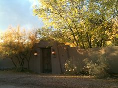 Kristin knows an adobe autumn when she sees one...she lives here in Santa Fe!