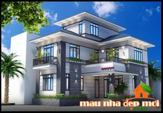 Mẫu biệt thự 2 tầng mái thái có tum đẹp tại Đông Hà-Quảng Trị  http://maunhadepmoi.com/bung-sang-khong-gian-voi-mau-biet-thu-2-tang-mai-thai-co-tum-dep-tai-dong-ha-quang-tri.html