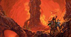 Dragonlance, Lost Chronicles, Dragons of the Dwarven Depths by Matt Stawicki.