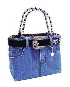 Love my jean purse
