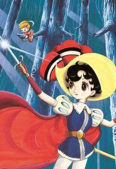 'Princess Knight' by Osamu Tezuka. | © TEZUKA PRODUCTIONS
