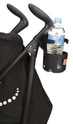 JB: Drink Bottle Holder [No parent should ever leave home without our Universal DBH. This nifty little device easily secures to most any frame regardless of tube size and/or profile and holds your beverage securely within easy reach. It's auto-levelling mechanism means, that going up a hill or down it, you won't spill a drop. Our unique inner shell makes the UDBH suitable for most cups and bottles (up to 1.5 litres) and most any product which is made of tube and has an open area for...]
