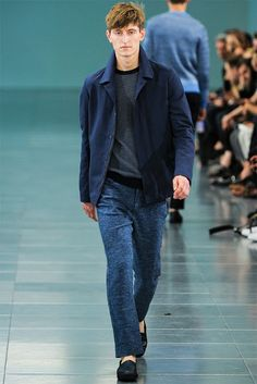 The Style Examiner: Menswear trend for spring/summer 2014: all things blue | Blues Brothers | mens blues #spring trends #blues