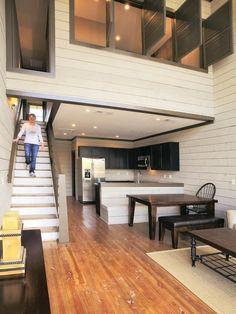 Conheça belos projetos de lofts decorados pequenos ou grandes. Confira as fotos selecionadas.