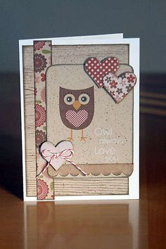 I am owl obsessed. There, I admitted it on Pinterest. ;-)