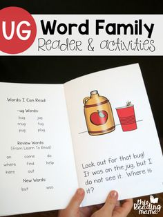 I'm so excited to share that Unit 4 of Learn to Read is HERE! Unit 4 features these three short u word families: the UG word family, UB word family, and UT word family. Plus, there's an extra lesson that reviews short u words and all the sight words learned in Unit 4. If you're …