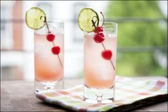 #lime, #ricky, #cherry, #tequila