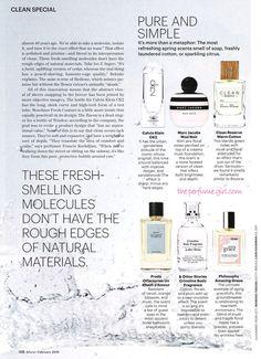 Calvin Klein CK2 Perfume editorial Allure Clean Issue