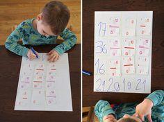 Jak nauczyć dziecko dodawania i odejmowania w głowie? Karty matematyczne Grabowskiego! Crafts For Kids, Kids Rugs, Education, School, Blog, Diy, Cuba, Crafts For Children, Kids Arts And Crafts