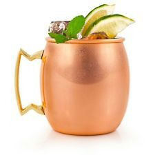 Copper Moscow Mule Mug - Two Friends