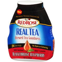 Red Rose Tea Announces Red Rose Real Tea Premium Liquid Water Enhancer - Food & Beverage Magazine Red Rose Tea, Brewing Tea, Gourmet Recipes, Red Roses, Raspberry, Beverages, College Life, Water Drops, Food