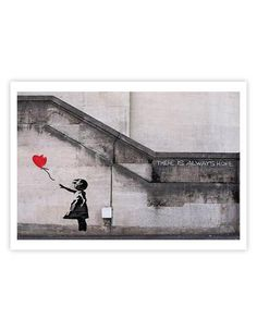 THE PRINTWe are very excited to present this series of Banksy art print…