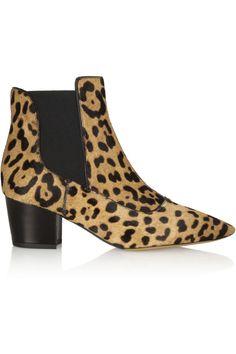 Tabitha SimmonsShadow leopard-print calf hair ankle boots