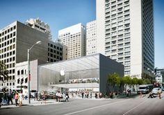 San Francisco's Apple Store in Union Square