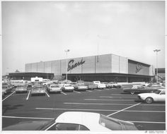 Sears Store, just before opening, 1970 Sunnyvale California, Ventura County, Department Store, Southern California, Digital Image, Caption, Acre, Wednesday, Knight