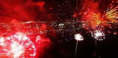 Cannon Fireworks Drive You Crazy | drone-flew-inside-a-fireworks-show-and-captured-spectacular-video-of ...