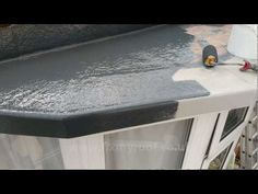Part 1 How to Install a Fibreglass Roof - GRP timber decking - YouTube