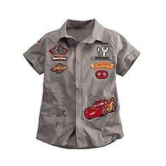 Lightning McQueen Shirt for Boys Personalizable