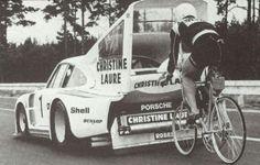 The Martini Porsche 935 and the World Speed Record for Cyclists Porsche 935, Porsche Motorsport, Porsche Cars, Porsche Classic, Martini Racing, Classic Sports Cars, Bike Life, Cool Bikes, Cars