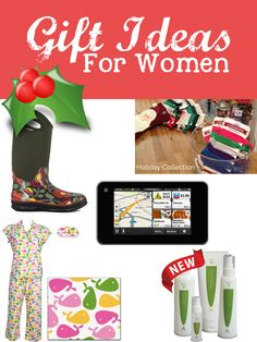 Holiday Gift ideas for women