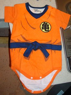 Dragon ball z onesie Toddler Outfits, Baby Boy Outfits, Nerdy Baby Clothes, Baby Cosplay, Baby Fever, Future Baby, Dragon Ball Z, Baby Photos, Kids Fashion