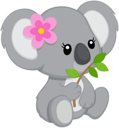Koala Bear - Cute Baby And Animal Pictures Koala Baby, Kangaroo Baby, Koala Tattoo, Baby Animals, Cute Animals, Image Deco, Cute Images, Cute Cartoon, Bear Cartoon