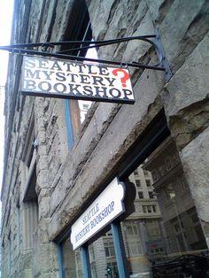 seattle mystery bookshop by Rakka, via Flickr