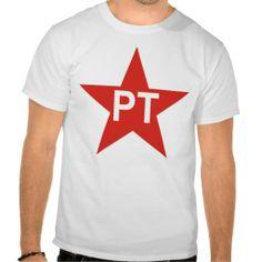 Partido dos Trabalhadores Tee Shirt Partido Dos Trabalhadores aa971f2cd2ed5