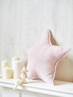 Star Shaped Pillow, Pink Nursery Decor, Deco Star Pillow, Star Cushions, Pink Pillow, Decorative Linen Pillows, Star Decor, Star Home Decor #StarPillow #StarCushion #StarShape #LinenHome Pink Pillows, Pink Bedding, Throw Pillows, Star Cushion, Linen Bedroom, Star Decorations, Star Shape, Nursery Decor, Playroom
